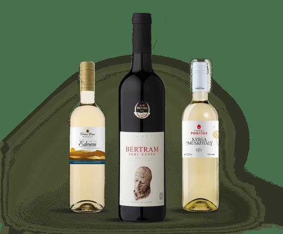 wina węgierskie magyar borhaz baner